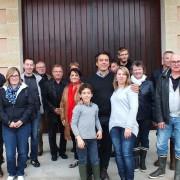 Nos vendangeurs équipe 2013