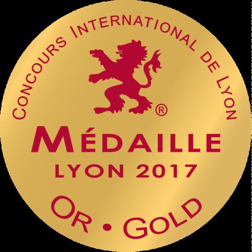 Medaille_Or_Lyon_2017 - Prestige et la passion