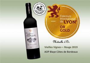 Médaille Lyon - VV 2018