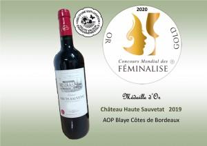 Médaille feminalise - HT Sauvetat 2019